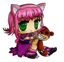 Annie and Tibbers by Vanilla-Brownie