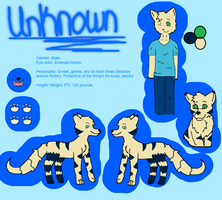 Unknown Ref Sheet:. Detailed by bambifawnluv