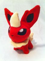 Flareon pokedoll by SpaceVoyager