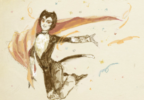 Mr. Mistoffelees by SnowSheepSleep
