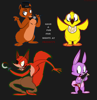 Five Nights At Freddy's by happychipmuk