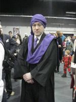 Professor Quirrell - Midlands expo 2012 by LuciaDuvant