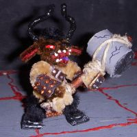 Minotaur mini with Maul by the-gil-monster
