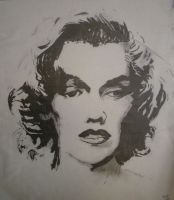 Marilyn Monroe by morghach