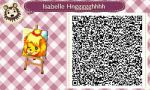 Isabelle/Shizue Pattern by canine-prince