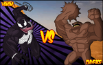 Venom VS Clayface by Sauron88