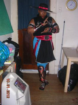 Kung Lao Costume 1.0 2 by GirlGlycerine