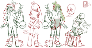 Cherry Butt : Merngo Ref WIP by Kinla