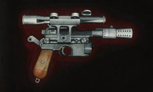 Han Solo's blaster. by stuponitron