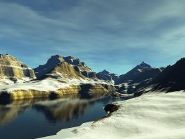 Terragen - Last snow by duris