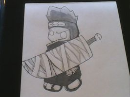 Chibi Kisame by Alex-Claude-Sebby