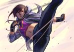 Mei Ning kickin it by kasai