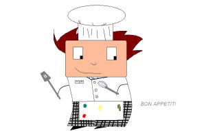 Chef Tim by KauseNeffect
