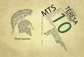 Spartan Yearbook Cover 2010 by opov20