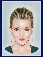 Portrait: Katie Cassidy by sevendays007
