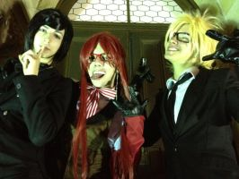 Black Butler Cosplay by Acrylicolt