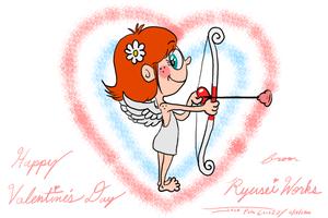 Happy Valentine's Day 2012 - Version 2 by ryuuseipro