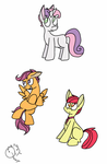 Cutie Mark Cadets by Quincydragon