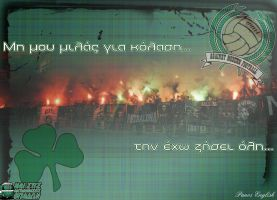 Gate 13 - Panathinaikos Athens by PanosEnglish