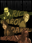 The Walking Dead by NessaSan