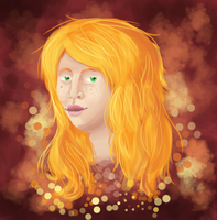 Quick Painting Fierra by FeatheredSoap