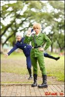 APH: Photobomb by yinami