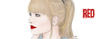 Taylor Swift - RED by OakleePoakdee