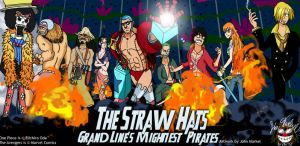 The Straw Hats: Grand Lines Mightest Pirates by mugiwaraJM