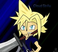 Cloud Strife by Squirrelfang2