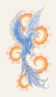 Phoenix tattoo design by primitive-art