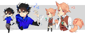 Mixed Adopts Batch [CLOSED] by yhviia-adopts