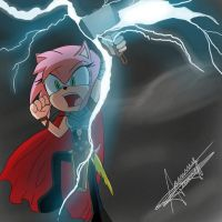 Amy, goddess of thunder by annie-tower