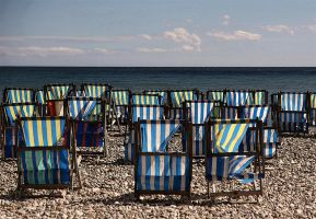 beside the seaside in color by awjay