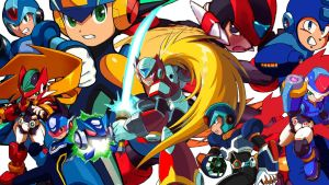 Megaman collage by carlrules097