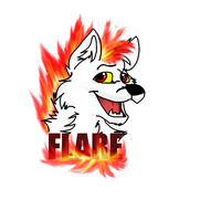 Flare badge by Obsidianthewolf