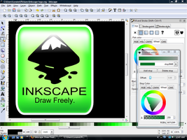 Simple Inkscape button by QuicheLoraine
