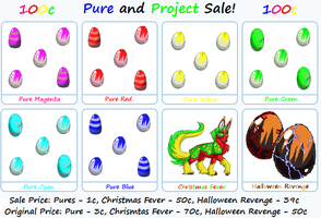 Pure Sale + Project Sale by tropical395