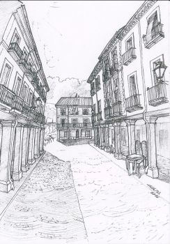 Alcala #3 by ChemaIllustration