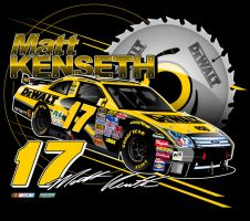 Matt Kenseth Dewalt Design by Veeyo