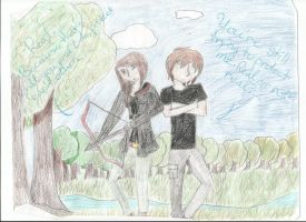 Katniss x Peeta by KittyKat13106