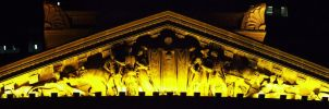 King George Square frieze by Wolfie-83