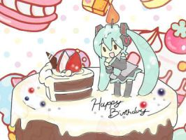 Happy Birthday Miku! =) by Haruna-Chanx3