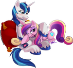 Commence Royal Cuddles by PumpkinHipHop
