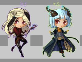 Adoptable Chibi Auction 23 + 24 [CLOSED] by sonisadopts