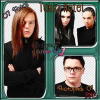 Photopack 01 PNG Tokio Hotel by PhotopacksLiftMeUp