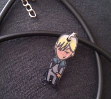 Kawaii Draco Malfoy necklace by Lovelyruthie
