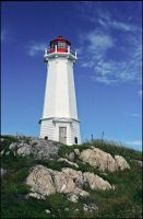 Louisbourg Lighthouse. by MrScourge