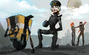 // Claptrap in Love  // by Velocrypt