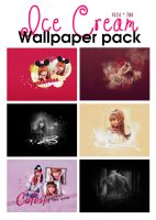 [PSD] Ice Cream Wallpaper Pack by SammyYun