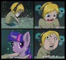 Amnesia ponies! D: by AbnormallyNice